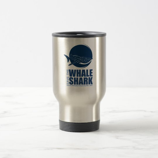 Save the Whale Shark Gear from MMF Travel Mug