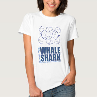 Save the Whale Shark Tops from MMF T-shirt