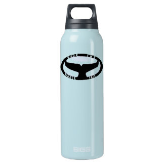 Save The Whale Tail Bottle 16 Oz Insulated SIGG Thermos Water Bottle