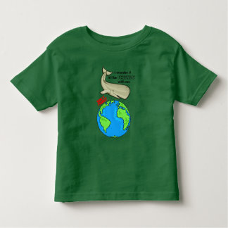 Save the Whale Toddler T-shirt