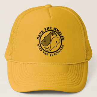 Save the Whales - Animal Rights Trucker Hat