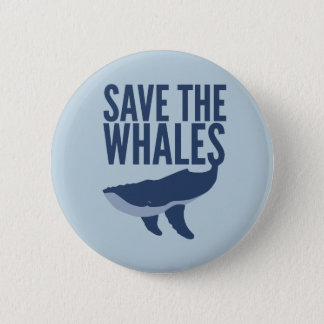 Save the Whales Button