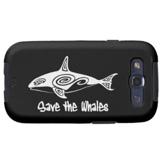 Save the Whales Galaxy S3 Cover