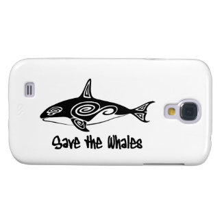 Save the Whales Samsung Galaxy S4 Covers