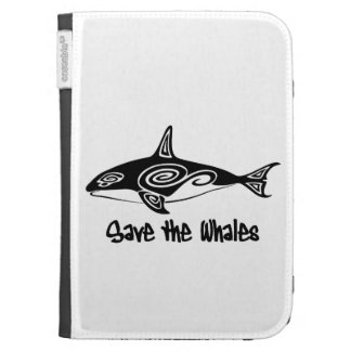 Save the Whales Kindle Keyboard Case