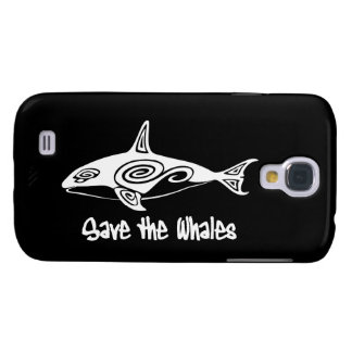 Save the Whales Galaxy S4 Covers