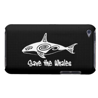 Save the Whales Barely There iPod Case