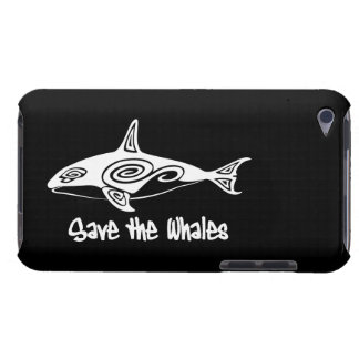 Save the Whales Barely There iPod Covers
