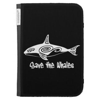 Save the Whales Kindle 3G Cover