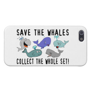 Save The Whales Collect The Whole Set iPhone SE/5/5s Case