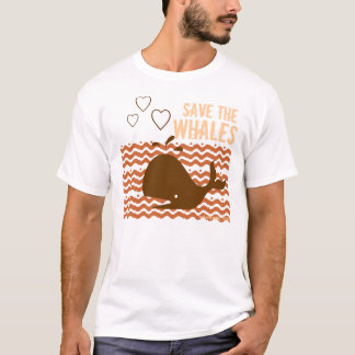 Save The Whales - Environmentally Conscious T-Shirt