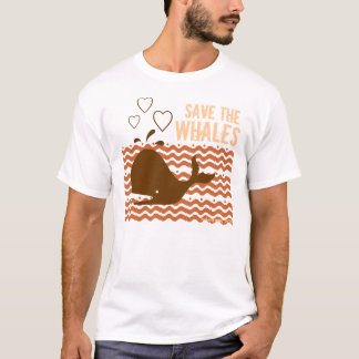 Save The Whales - Environmentally Conscious T-Shirt