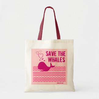 Save The Whales - Environmentally Conscious Tote Bag