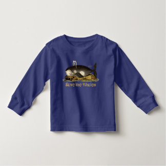 Save the Whales for kids Toddler T-shirt
