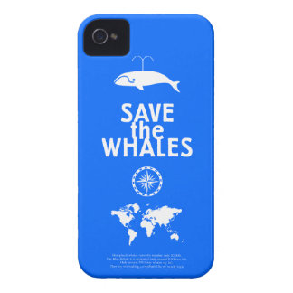 Save the Whales - iPhone4 - iPhone 4 Cover