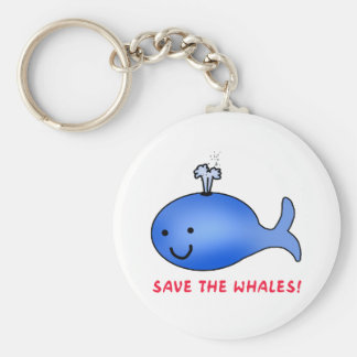 Save the Whales! Keychain