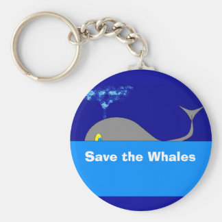 , Save the Whales Keychain