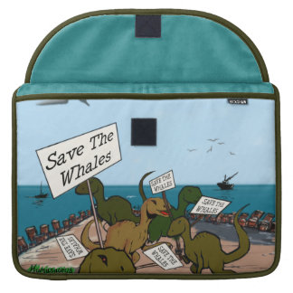 Save the Whales MacBook Pro Sleeve