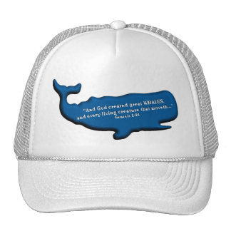 Save the Whales Merchandise 100% royalties Donated Trucker Hat