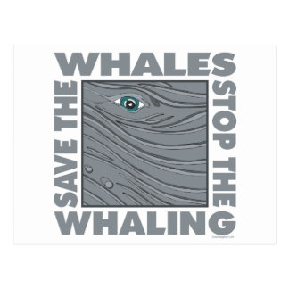 Save the Whales Postcards