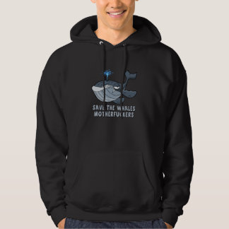 Save the whales pullover