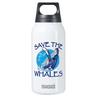 Save the Whales SIGG Thermo 0.3L Insulated Bottle