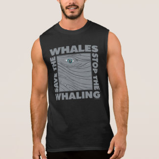 Save the Whales Sleeveless Shirt