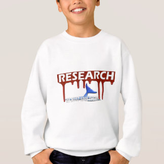 Save The Whales Sweat shirt Bloody Research