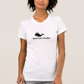 Save the whales tank tops