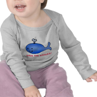 Save the Whales! T-shirts