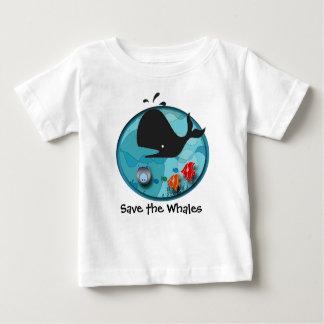 Save the Whales Tshirt