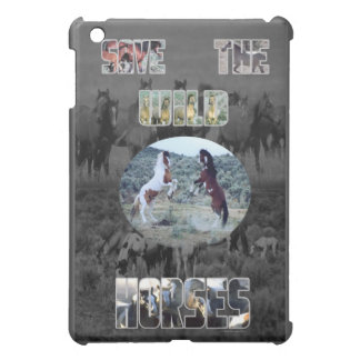 Save The Wild Horses iPad Mini Case