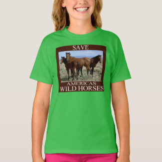 Save the Wild Horses T-Shirt