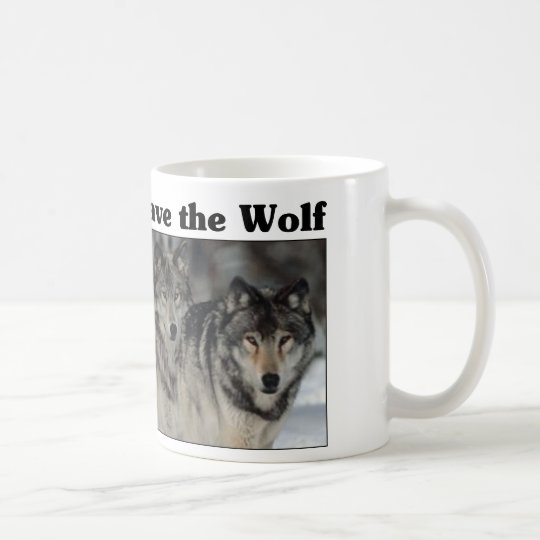 Save the Wolf Coffee Mug