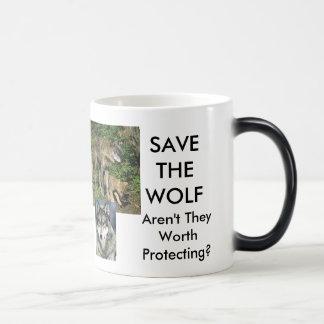 Save The Wolf Mug