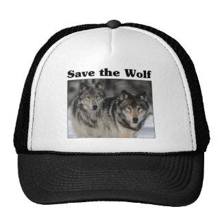 Save the Wolf Trucker Hat
