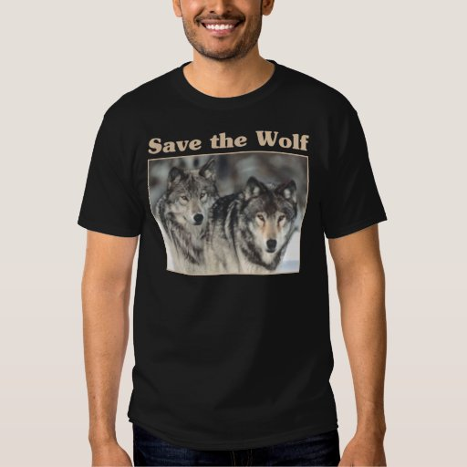 Save the Wolf Tshirts