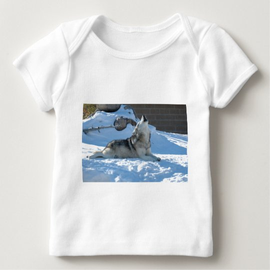 Save The Wolves Baby T-Shirt