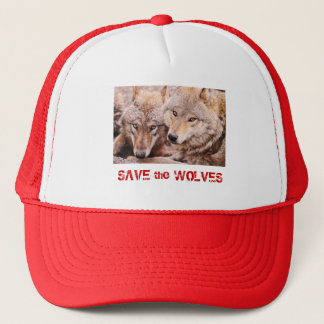 Save the Wolves Trucker Hat