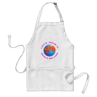 Save the World Adult Apron