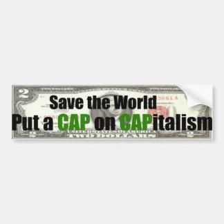 Save The World Bumper Sticker Car Bumper Sticker