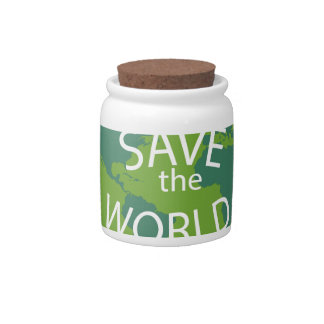 SAVE THE WORLD CANDY DISHES