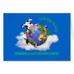 Save The World Card