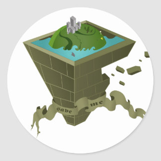 Save the World Classic Round Sticker