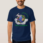 Save The World (Navy) T Shirts