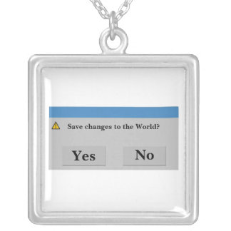 Save the World Necklace