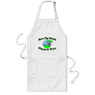 Save The World Plant A Tree Aprons