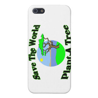 Save The World Plant A Tree Cover For iPhone SE/5/5s