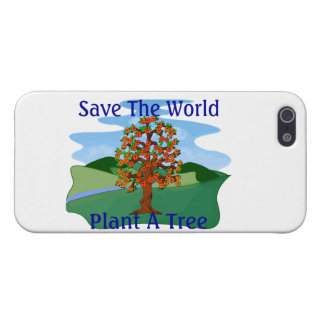 Save The World Plant A Tree iPhone SE/5/5s Cover