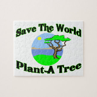 Save The World Plant A Tree Jigsaw Puzzle
